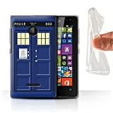 Stuff4 Phone Case for Microsoft Lumia 532 Tardis Phone Box
