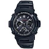 [カシオ] 腕時計 ジーショック 電波ソーラー AWG-M100SBC-1AJF ブラック