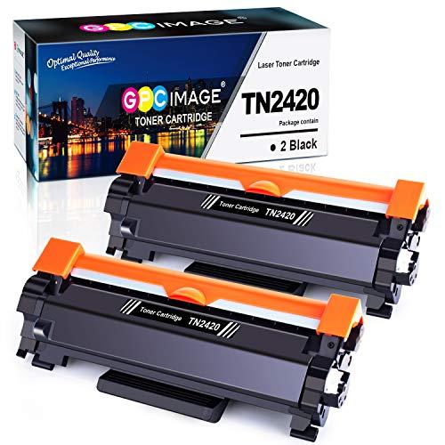 GPC Image Toner Cartridges compatibel voor TN2410 TN-2410 2 Schwarz 2, zwart