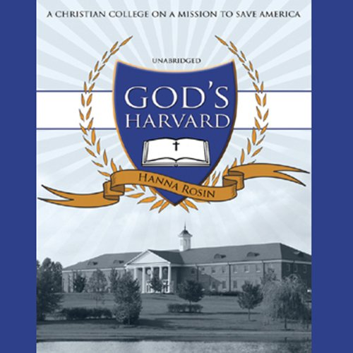 God's Harvard audiobook cover art