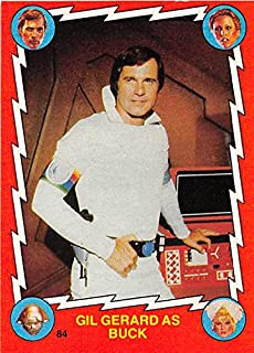 Gil Gerard trading card Buck Rogers 1979 Topps #84