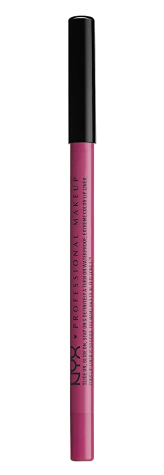 NYX Professional Makeup Slide On Lip Pencil, Fluorescent, 0.04 Ounce