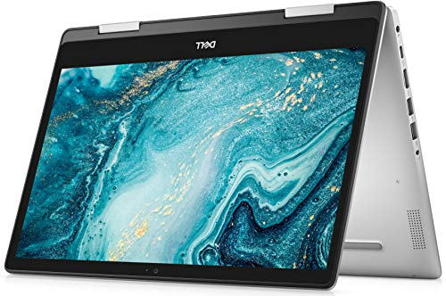 Dell Inspiron 14 5000 Series 2-in-1 14 Inch FHD Touchscreen Convertible 2020 Laptop (Silver) Intel Core i3-10110U 10th Gen, 4 GB RAM, 256 GB SSD, Windows 10 Home