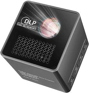 FGDSA Mini Proyector De Video Portátil, Mini Proyector De Películas Portátil, Proyector De Video HD, Soporte 1080P, Conexi...
