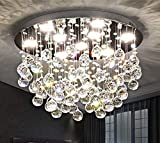 Saint Mossi 9-Lights Modern Chandelier K9 Crystal...