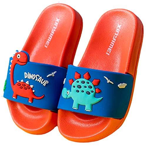 Vorgelen Scarpe da Spiaggia e Piscina Bambini Pantofole da Bagno Ragazzi e Ragazze Interno Pantofole estive Sandali Unisex Scarpe da Famiglia Rosso Blu 28/29 EU = Produttore 29/190