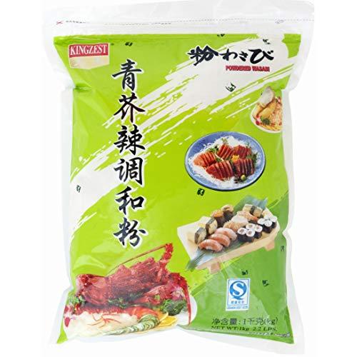 Kingzest Wasabi in polvere, 1 kg
