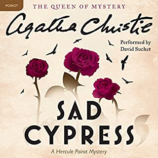 Sad Cypress audiobook cover art