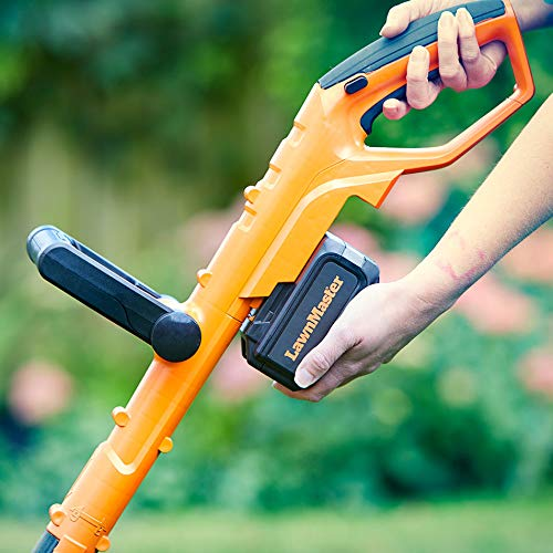 LawnMaster 24v Cordless Grass Trimmer Charge time