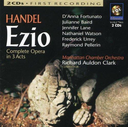 Ezio, Hwv 29: Act I - Act I: Overture: Allegro