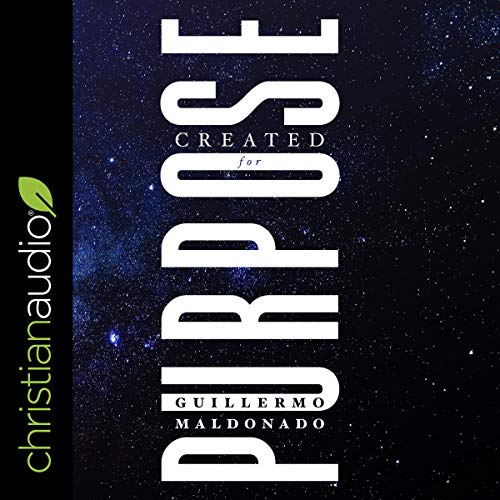 Created for Purpose audiobook cover art