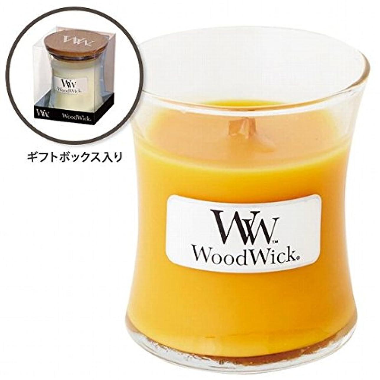 真っ逆さま複雑空白ウッドウィック( WoodWick ) Wood WickジャーS 「スパークリングオレンジ」