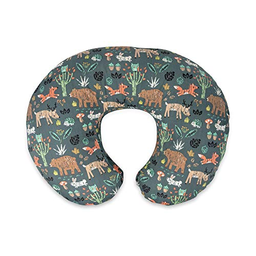 Boppy Original Nursing Pillow & Positioner, Green Forest...