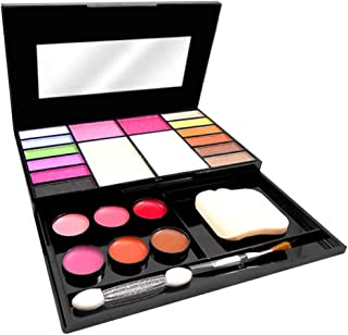 T.Y.A GOOD CHOICE INDIA Makeup Kit, 12 Eyeshadow, 2 Blusher, 2 Compact, 6 Lip Color, (5020), 26g With Lilium Hand Cleanser