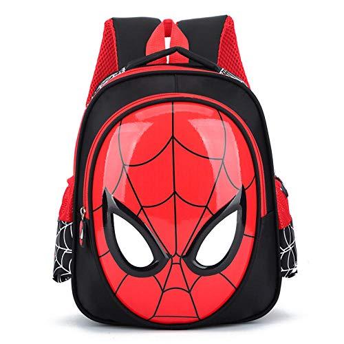 3-6 Year Old School Bags For Boys Waterproof Backpacks Child Book bag Kids Shoulder Bag Satchel Knapsack-Black