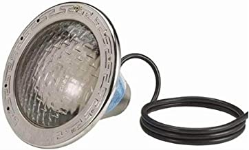 Pentair 78421100 Amerlite Underwater Incandescent Pool Light with Stainless Steel Face Ring, 120 Volt, 15 Foot Cord, 300 Watt