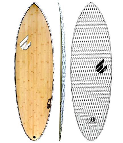Bulldog V-Flex Short Surfboard by ECS Boards
