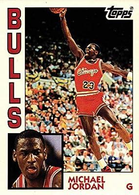 1992-93 Topps Archives #52 Michael Jordan Basketball Card - 1984 Rookie Card Design