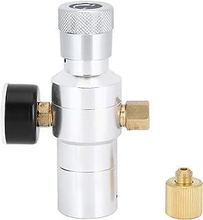 CO2レギュレーター、CO2レギュレーターミニ自家製ビールソーダ水製造ツールアルミニウムMFL 3/8インチ0‑150PSI