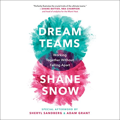 Dream Teams audiobook cover art