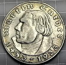 silver 2 reichsmark