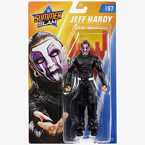 COLLECTOR WWE - Jeff Hardy - SummerSlam Figura de Acción, Lleva a Casa la Acción de...