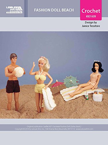Fashion Doll Beach Outfits & Accessories Crochet ePatterns (English Edition)