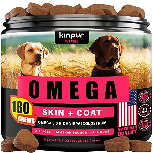 Top 10 best selling list for dog supplements for skin and coat shedding