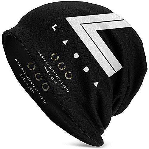 Mamihong Niki Lauda Adult Beanie Mütze Warm Slouchy Knit Stylish Cap Headwear Für Mann Frauen Schwarz