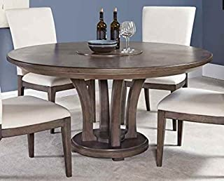 American Drew Modern Round Dining Table 605180, Brown