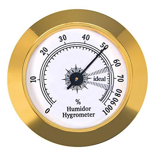 Precision Round Cigar Hygrometer
