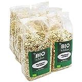 BioKitchen - Fiocchi d'avena biologici, 6 x 500 g