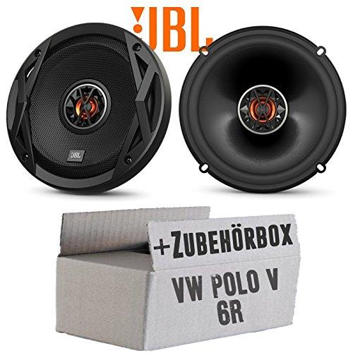 VW Polo 6R Front Heck - Lautsprecher Boxen JBL Club 6522 | 2-Wege | 16cm Koax Auto Einbauzubehör - Einbauset