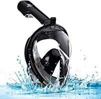 infinitoo Diving Mask Full Face Mask Snorkeling Mask with 180° Field of View and Camera Stand | Silicone Seal Anti-fog,...
