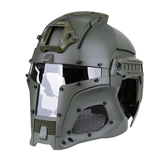 Tactical Military Ballistischen Helm Seitenschiene NVG Shroud Transfer Base Armee Kampf Airsoft Paintball Full Face Maske Helm
