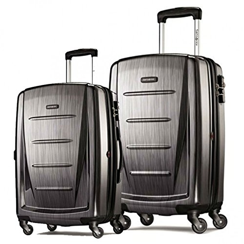Best Bargain Samsonite Winfield 2 Fashion Hardside Spinner (20-Inch & 28-Inch, Charcoal)