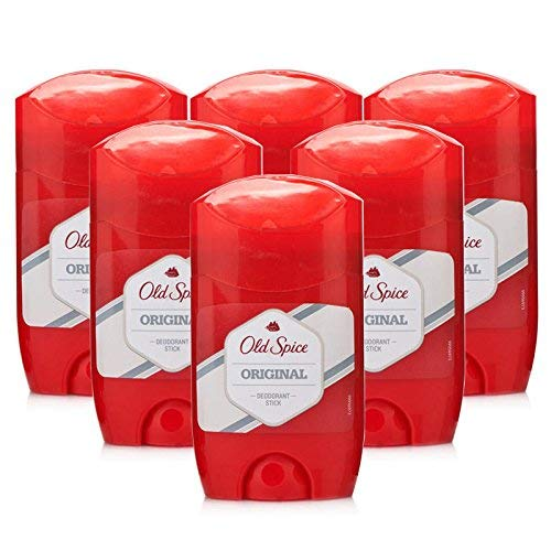 Old Spice Classic Antiperspirant & Deodorant Stick, Original, 2-Ounce Sticks (Pack of 6) by Old Spice BEAUTY (English Manual)