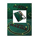 Official Tapete Juegos de Mesa, Casino Poker Black Jack