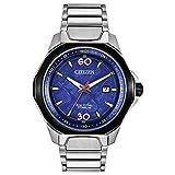 Citizen Eco-Drive Marvel Quartz Mens Watch, Super Titanium, Silver-Tone (Model: AW1548-86W)