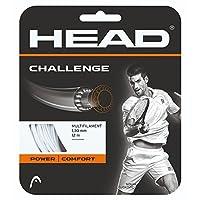 ヘッド(HEAD) 硬式テニス ガット チャレンジ 12m 281806 ホワイト