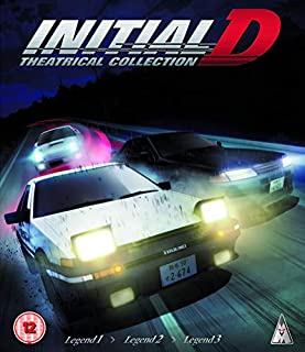 Initial D Movie Collection (3 Blu-Ray) [Edizione: Regno Unito] [Italia] [Blu-ray]