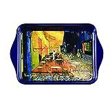 Van Gogh, Bandeja con dibujo de ' Terraza de Café por la Noche', Enesco
