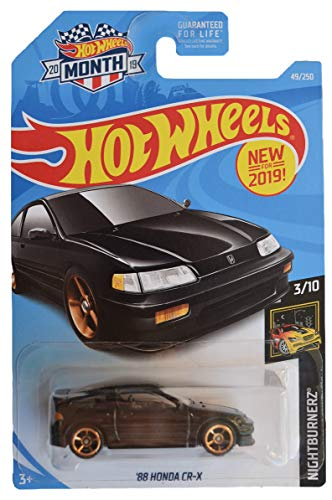 Hot Wheels Nightburnerz 3/10 [Black]