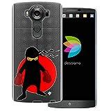 dessana Ninja Coque de protection transparente pour LG V10 Ninja