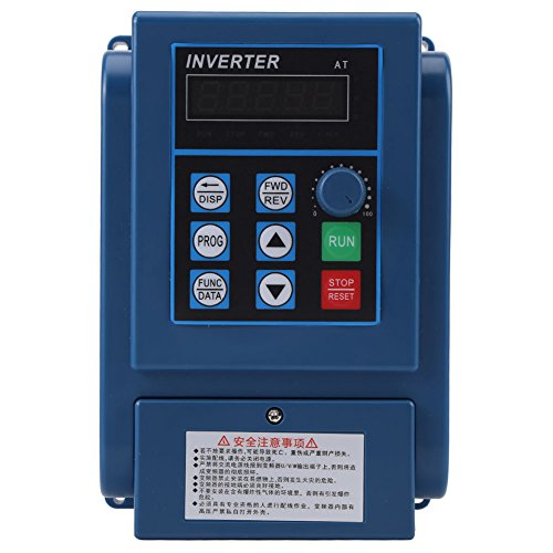 1 STÜCK AC 380 V 1.5kw 4A Frequenzumrichter VFD 3 Phase Drehzahlregler Inverter Motor