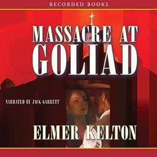 Massacre at Goliad audiobook cover art