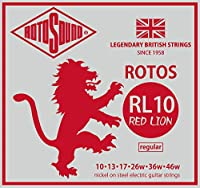 ROTOSOUND ロトサウンド エレキギター弦 RED LION RL10