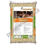 Pellet TIMBORY by PFEIFER 100% Abete - Qualità ENPLUS A1 - Alto potere calorifico (40 SACCHI DA 15 KG)