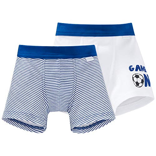 Schiesser Jungen Multipack 2pack Shorts' Boxershorts, Mehrfarbig (Sortiert 1 901), 92 (2er Pack)