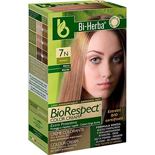 bi-herba Crème Colorant sans ammoniaque 7 N Blond